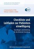 Checkliste und Leitfaden zur Patienteneinwilligung (eBook, PDF)