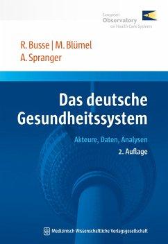 Das deutsche Gesundheitssystem (eBook, PDF)