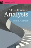 First Course in Analysis (eBook, ePUB)