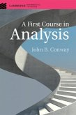 First Course in Analysis (eBook, PDF)
