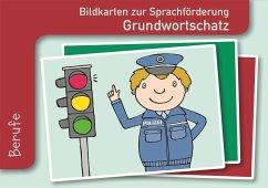Bildkarten zur Sprachförderung: Grundwortschatz: Berufe - Redaktionsteam Verlag an der Ruhr