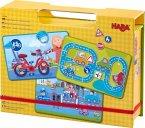 Magnetspiel-Box Straßenverkehr (Kinderspiel)