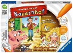 Ravensburger 00830 - Tiptoi® Rätselspaß auf dem Bauernhof, Lern- und Logikspiel