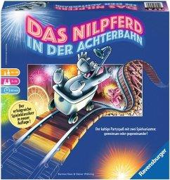 Ravensburger 26772 - Das Nilpferd in der Achterbahn, Brettspiel, Partyspiel