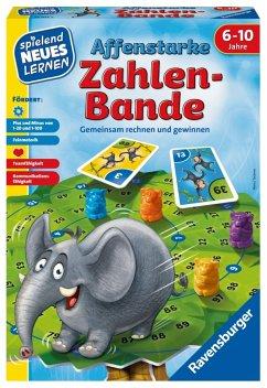 Ravensburger 24973 - Affenstarke Zahlen Bande, Rechen Lernspiel, Legespiel