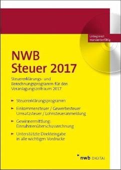NWB Steuer 2017, CD-ROM