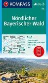 KOMPASS Wanderkarte Nördlicher Bayerischer Wald