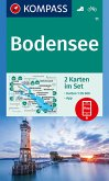 Kompass Karte Bodensee, 2 Bl.
