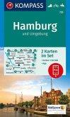 KOMPASS Wanderkarte Hamburg und Umgebung