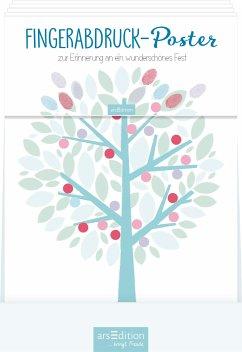 Display Fingerabdruck-Poster Zur Kommunion