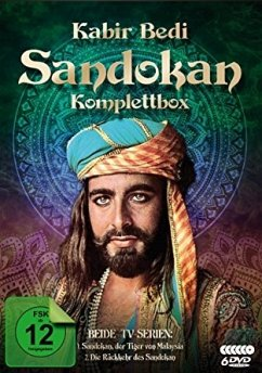 Sandokan - Komplettbox (6 Discs)