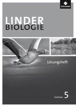 LINDER Biologie 5. Lösungen zum Arbeitsheft. Sekundarstufe 1. Sachsen