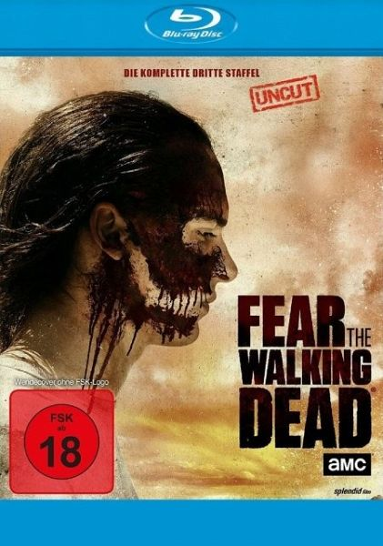 Fear the Walking Dead - Die komplette dritte Staffel (4 Discs) - Dickens,Kim/Curtis,Cliff/Dillane,Frank/+