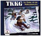 TKKG - Der Räuber mit der Weihnachtsmaske, 1 Audio-CD