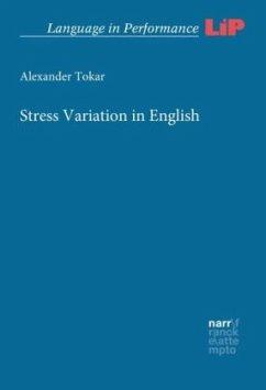 Stress Variation in English - Tokar, Alexander