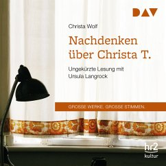 Nachdenken über Christa T. (MP3-Download) - Wolf, Christa