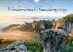 Wunderschönes Elbsandsteingebirge (Wandkalender 2018 DIN A4 quer)
