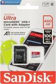 SanDisk Ultra microSDXC A1 400GB 100MB/s.Adapt.SDSQUAR-400G-GN6MA