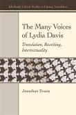The Many Voices of Lydia Davis: Translation, Rewriting, Intertextuality