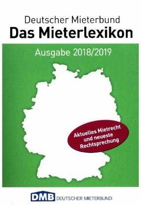 Das Mieterlexikon 2018/2019 - Rips, Franz-Georg