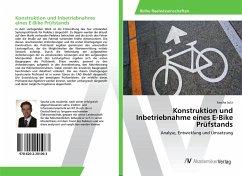 Konstruktion und Inbetriebnahme eines E-Bike Prüfstands