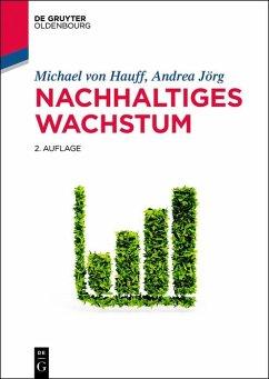 Nachhaltiges Wachstum (eBook, PDF) - Hauff, Michael von; Jörg, Andrea