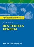 Des Teufels General. Königs Erläuterungen. (eBook, ePUB)