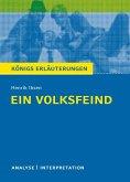 Ein Volksfeind. Königs Erläuterungen. (eBook, ePUB)