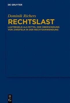 Rechtslast (eBook, ePUB) - Richers, Dominik