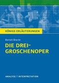 Die Dreigroschenoper. Königs Erläuterungen. (eBook, ePUB)