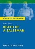 Death of a Salesman - Tod eines Handlungsreisenden von Arthur Miller. Textanalyse und Interpretation mit ausführlicher Inhaltsangabe und Abituraufgaben mit Lösungen. (eBook, PDF)