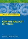 Corpus Delicti: Ein Prozess von Juli Zeh. Königs Erläuterungen. (eBook, ePUB)