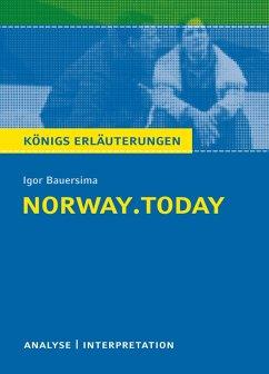 norway.today. Königs Erläuterungen. (eBook, ePUB) - Rothenbühler, Daniel; Bauersima, Igor