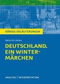 Deutschland. Ein Wintermärchen. Königs Erläuterungen. (eBook, ePUB)