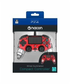 PS4 Controller Light Edition (rot)