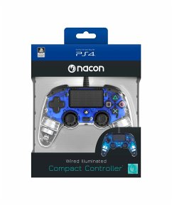 PS4 Controller Light Edition (blau)