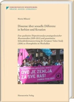 Dissense über sexuelle Differenz in Serbien und Kroatien - Mlinaric, Martin