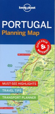 Lonely Planet Portugal Planning Map - Lonely Planet; Lonely Planet
