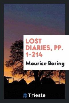 Lost Diaries, pp. 1-214