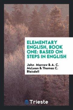 Elementary English, Book One