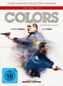 Colors - Farben der Gewalt (Limited Collector's Edition, Mediabook, 2 Discs + DVD, Cover A)