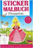 Stickermalbuch Prinzessinnen