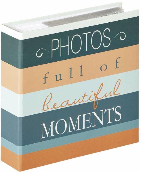 Einsteckalbum MONZA 200 Fotos 13x18 cm weiß
