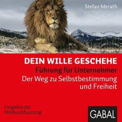 Dein Wille geschehe (MP3-Download) - Merath, Stefan