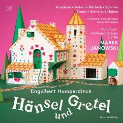 Hänsel Und Gretel - Wundsam/Steiner/Merbeth/Janowski/Rsb/+