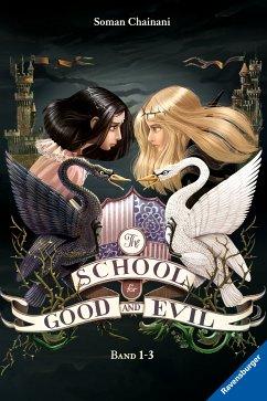 Es kann nur eine geben & Eine Welt ohne Prinzen & Und wenn sie nicht gestorben sind / The School for Good and Evil Bd.1-3 (eBook, ePUB) - Chainani, Soman