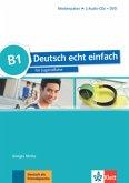 B1 - Medienpaket, 2 Audio-CDs + DVD / Deutsch echt einfach