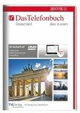 Das Telefonbuch Deutschland Herbst/Winter 2017/18