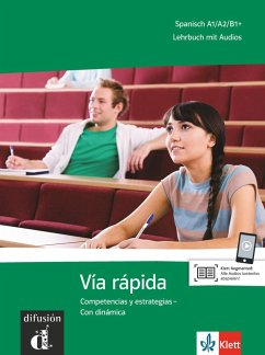 Vía rápida. Lehrbuch mit Audios für Smartphone/Tablet