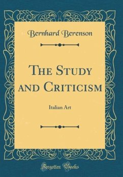 The Study and Criticism